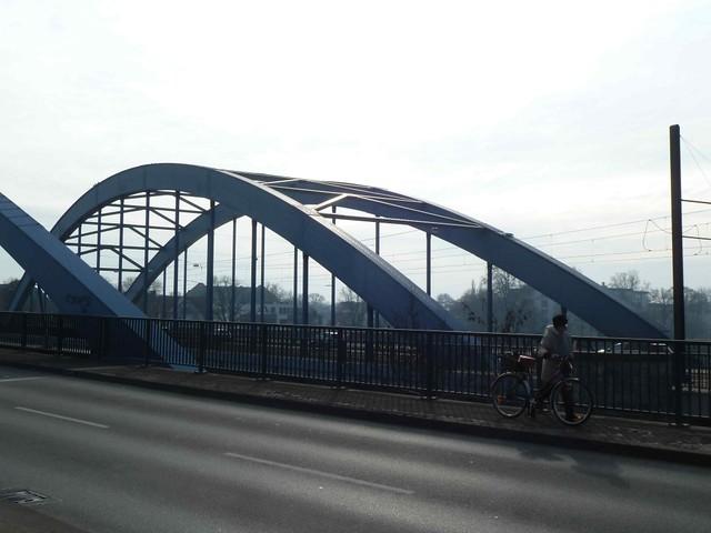 Jerusalem Bridge in Magdeburg, Germany