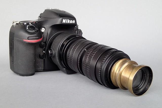 """Astra"" Aplanastigmaat F8 nº 2 (Amsterdam) on Nikon D800 Camera Set-up nº 1"