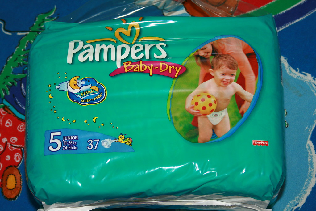 Pampers Baby-Dry Pants Windelhose