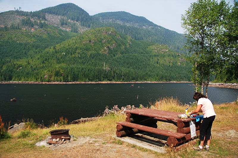 Maynard Lake near Port Alice, Vancouver Island, British Columbia, Canada