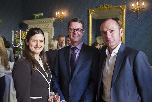 Anne Doyere, London City Airport; Ken Harrower, Flybe; Jeremy Probert, London City Airport