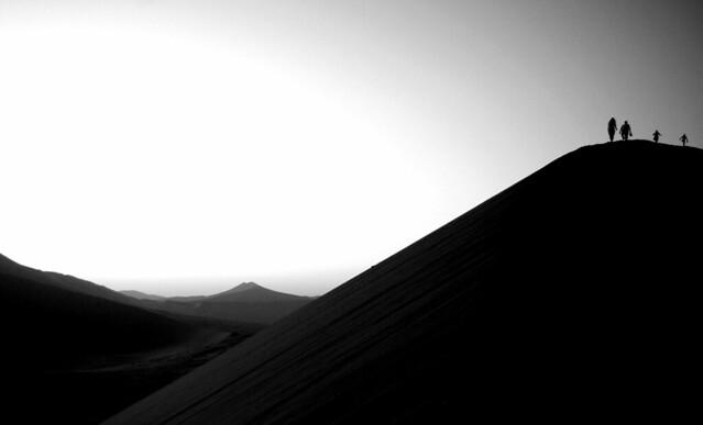 Dunes de Soslussvlei au petit matin / Namibie