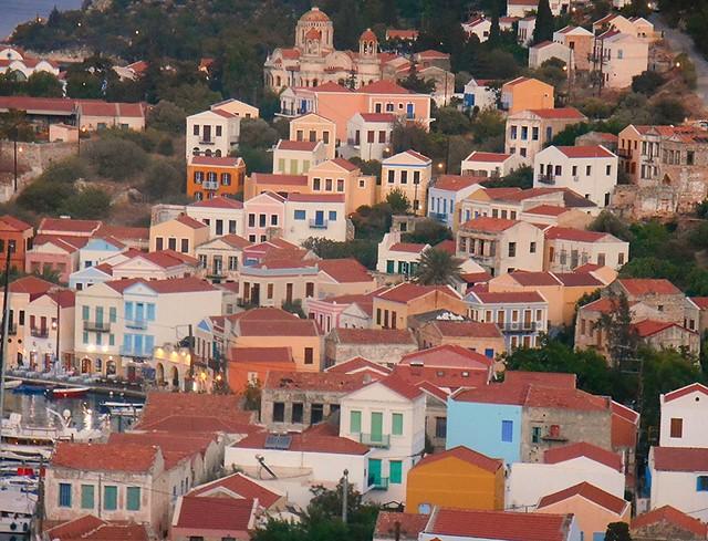 Kastellorizo, Greece: What is your favourite colour?/ Χρώματα του Καστελλόριζου