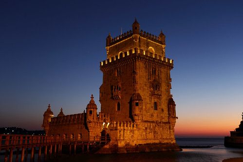 lisboa portugal belémtower unesco worldheritage 6d frank photographer relax vacation sunny 1740l nightview moonfestival canon