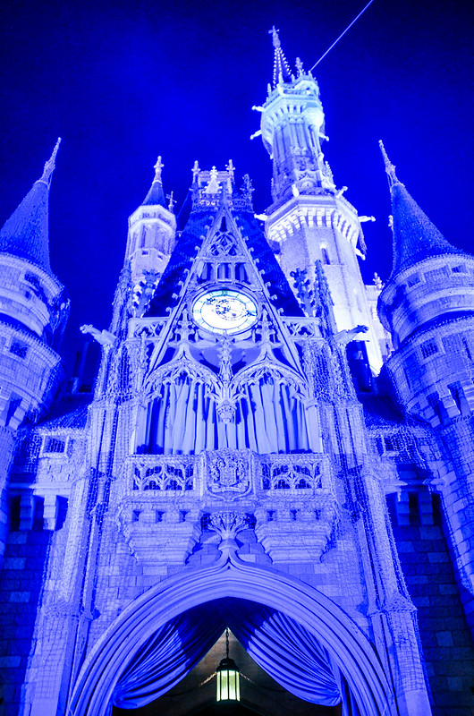 Purple castle below MK