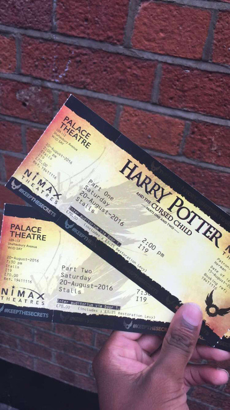 Fraser, Charles; London, England - Harry Potter and The Cursed Child