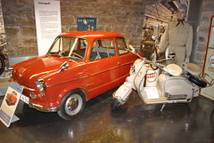 1960-62 NSU Prinz III mit NSU Lambaretta