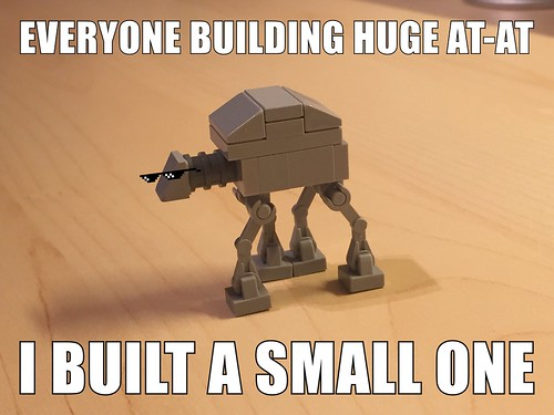 A fast way to get an AT-AT