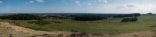 Bradgate Park Panorama
