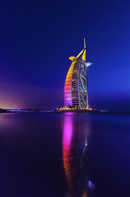 An evening in Burj Al Arab