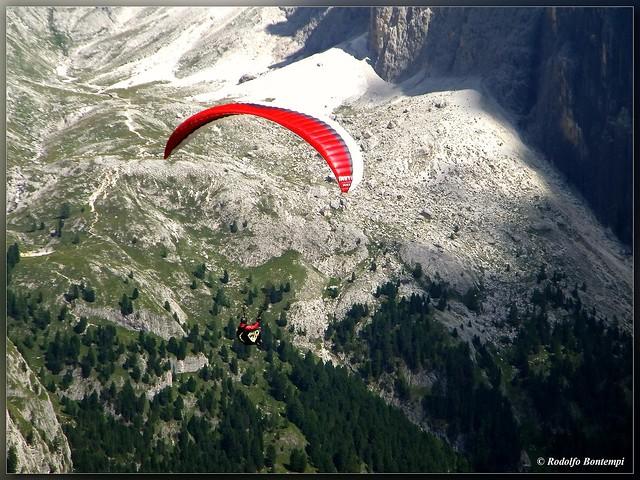 Volando...sulle Dolomiti