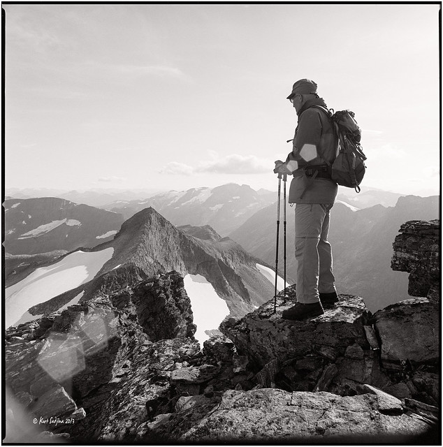 Me on the top of the Skruven_Hasselblad
