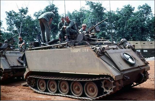 M113 apc 3rd Cavalry Regiment