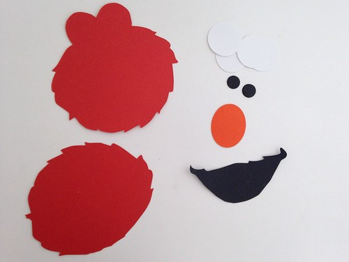 Elmo Shapes Cut Using Silhouette Cameo | by CraftyGoat