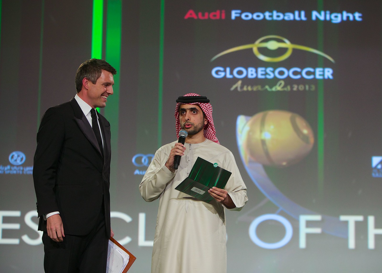 Globe Soccer Awards 218
