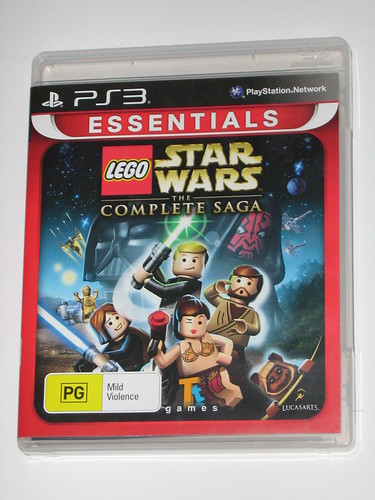 playstation 3 lego star wars the complete saga game a | by tjparkside