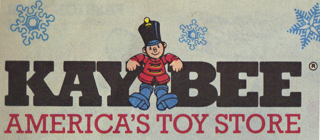 KAY•BEE TOY STORES :: Christmas in October pg.1 // ..KAY•BEE logo isolated  (( OCTOBER,8 1989 )) by tOkKa