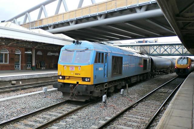 DB Schenker Class 60 60074 - Nottingham
