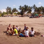 Building Sand Castles with the Locals