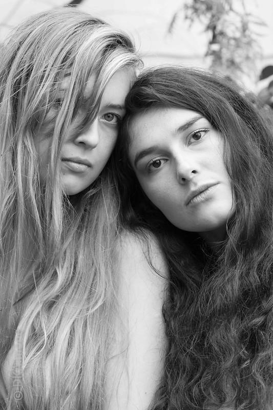 Brianna and Maya