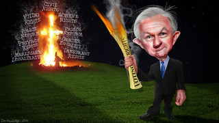 Jeff Sessions - Keeper of the Flame | by DonkeyHotey
