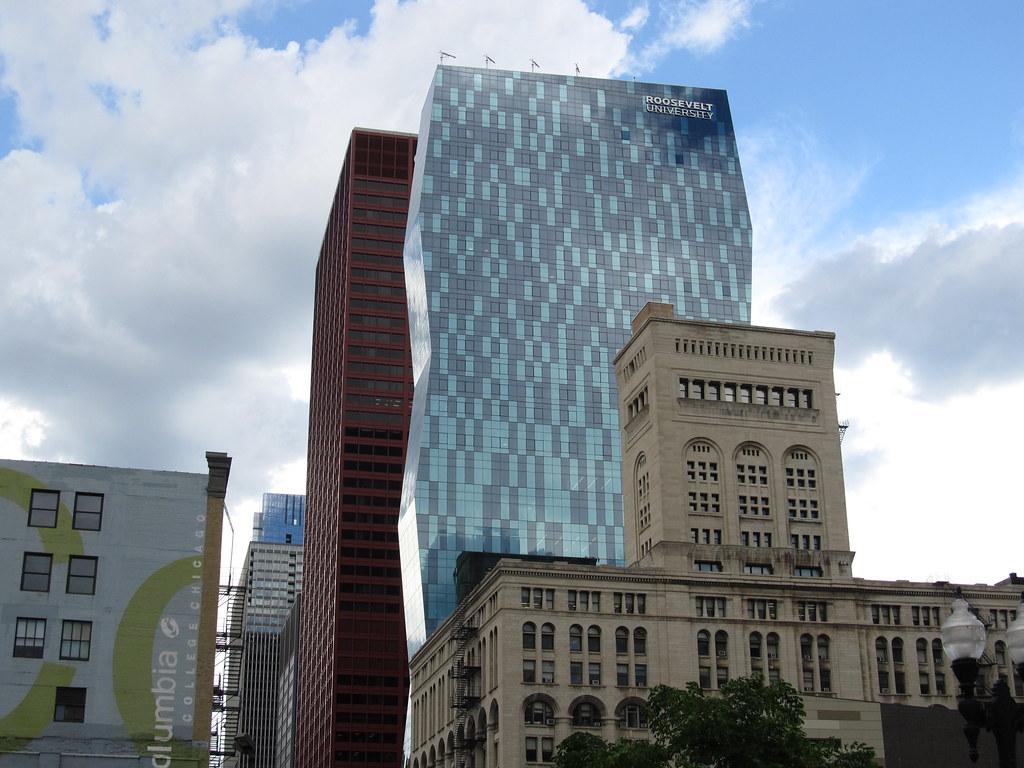 Wabash Building, Roosevelt University, Chicago, Illinois