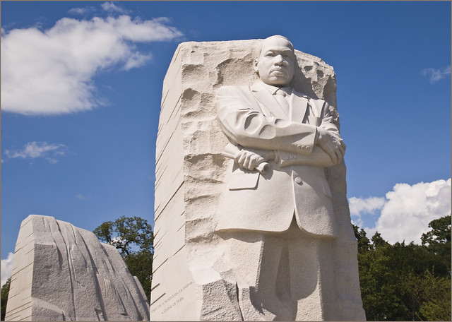 'Out of a Mountain of Despair, a Stone of Hope' -- MLK, Jr, Memorial Washingotn (DC) 2013