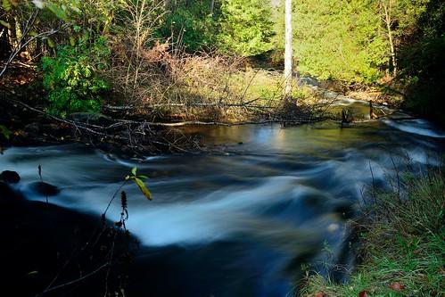 longexposure cold fall water mi fast clear trout fernridge neutraldensityfilter ruggpond october2013 10ppm