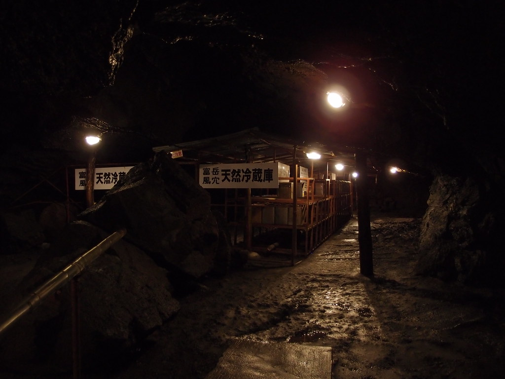 Wind Cave @ Aokigahara Forest