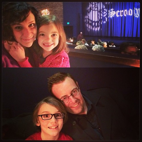 Seeing Scrooge, The Musical with the two older kids. :) | by Fluttering By