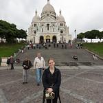 Emily at Sacré-Cœur