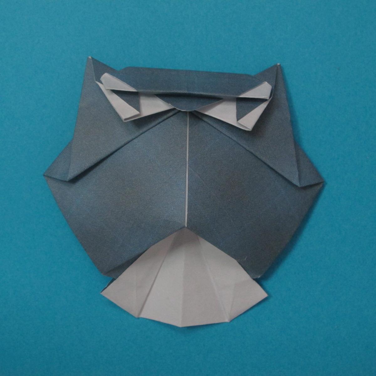 วิธีการพับกระดาษเป็นรูปนกเค้าแมว 038