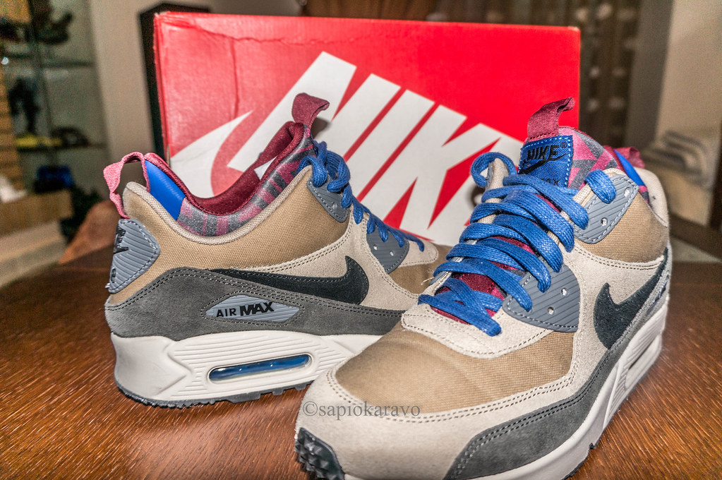 Nike Air Max 90 Sneakerboot PRM (Bamboo) | Nike Air Max 90 S