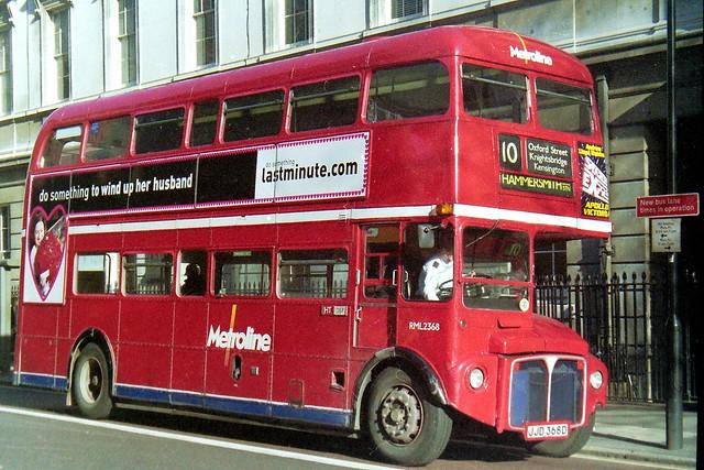 RML2368 JJD368D route 10