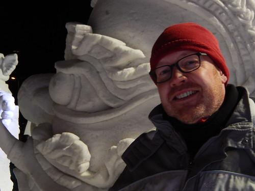 01 - Tromso - ijssculptuur