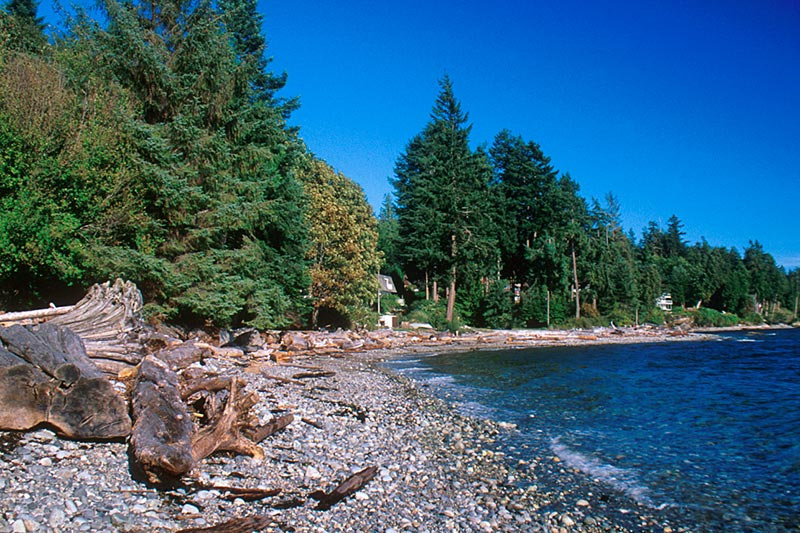 Roberts Creek Park, Gibsons, Highway 101, Sechelt Peninsula, Sunshine Coast, British Columbia, Canada