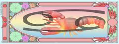 ...Art Nouveau Lobster...