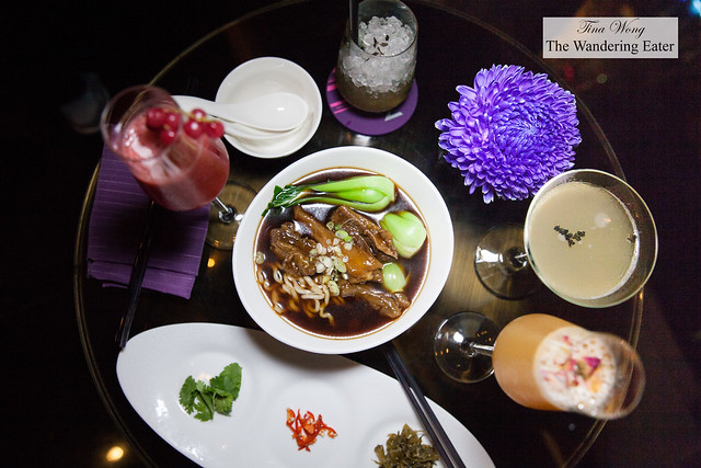 Delicious cocktails and the best braised beef noodles at YEN Bar