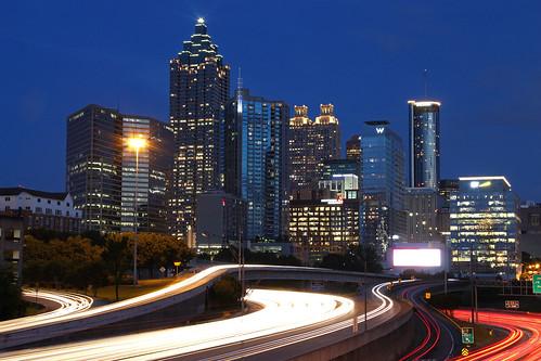 North Ave. View/I-85 Atlanta