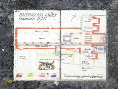 Map of Baltinglass Abbey