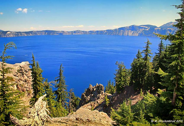 The Blue Waters of Crater Lake National Park