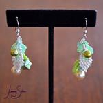 Cluster Earring by Jenny Schu