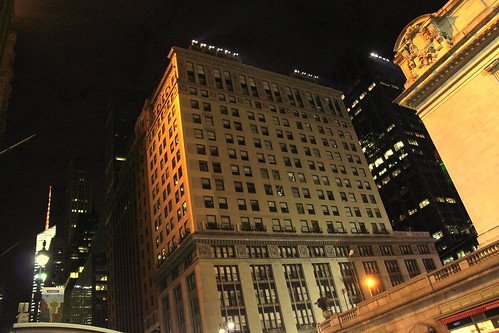 Midtown Manhattan at night | by wyliepoon