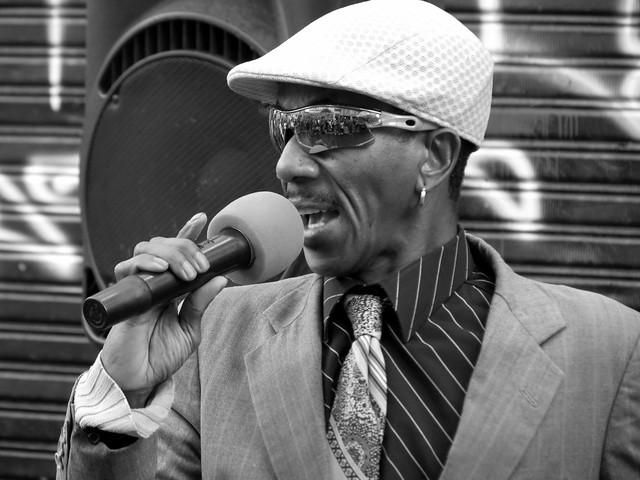 Cantante callejero