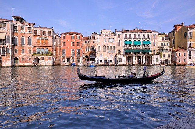 Venice : An afternoon on the Grand Canal