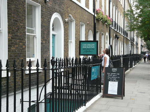 Charles Dickens Museum, Street view, P1260238 | by fringedbenefit