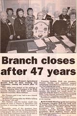 GHT_Bunyip_8July1998_Closure of Evanston Gardens Womens Agricultural Bureau_BB
