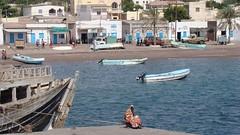 Djibouti 2013 - Sur la jetée du port de Tadjourah
