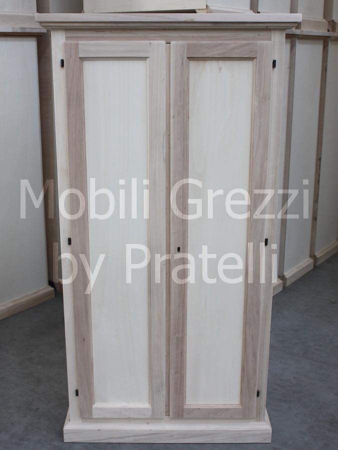 Armadio Portascope Grezzo | armadio in legno grezzo con port… | Flickr