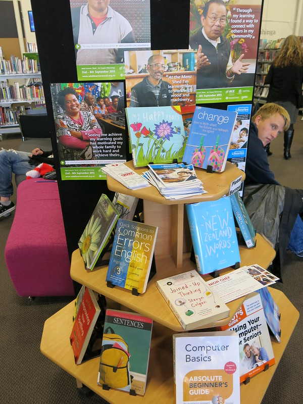 Adult Learners week display